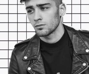 b&w, black, and handsome image