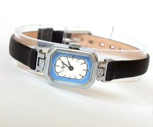 etsy, art deco watch, and vintage watch image