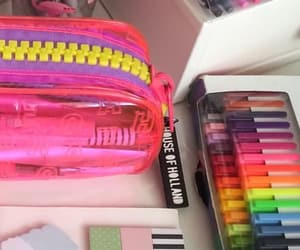 art supplies, college, and colors image