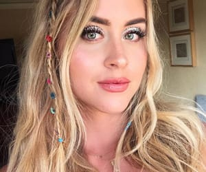 coachella, makeup, and valentinaferragni image