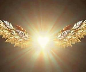 source light angel wings image