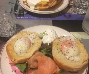 breakfast, food, and 😋 image