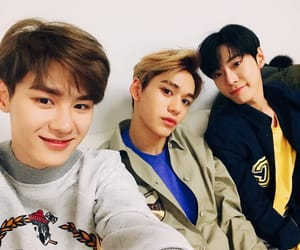 lucas, doyoung, and kun image