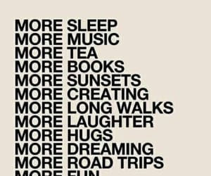 more, music, and sleep image