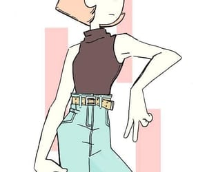 pearl, steven universe, and cartoon image