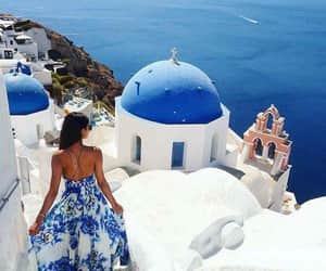 Greece, grecia, and santorini image