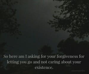 dark sky, Existence, and forgiveness image