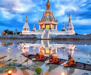 buddhism, peace, and Temple image