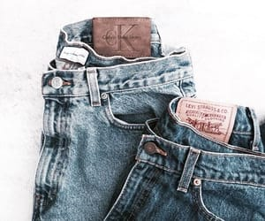 fashion, jeans, and denim image
