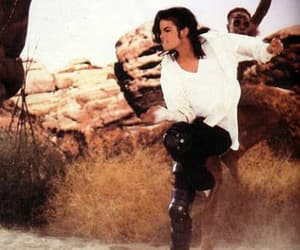 black or white and michael jackson image