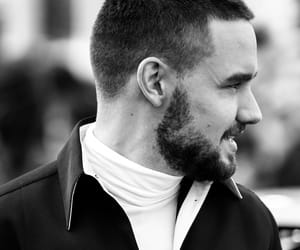 black and white, liam payne, and 2018 image