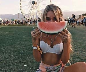 girl, coachella, and summer image
