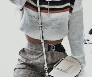 chic, croptop, and girl image