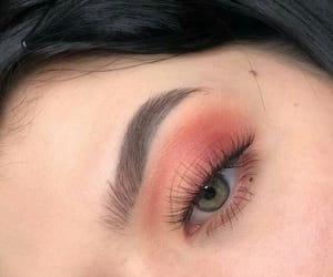 makeup, eyes, and aesthetic image