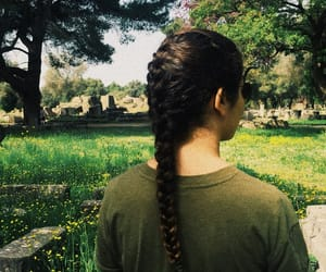 braid, Greece, and green image
