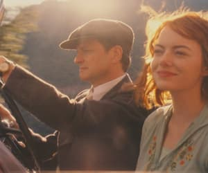 Colin Firth, emma stone, and movie image
