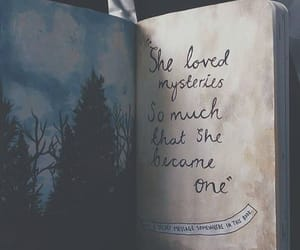 book, quotes, and mystery image
