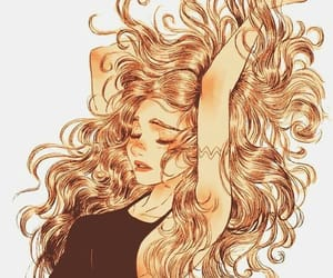 arte, dibujo, and hair image