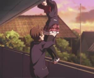 anime, chuunibyou, and gif image
