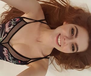 ginger, hair, and gntm 2018 image