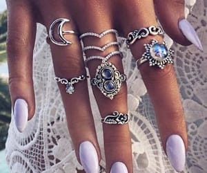 accesories, style, and nailsdesign image
