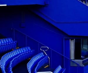 blue, stadium, and seating image