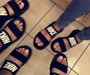 nike, sandals, and slides image
