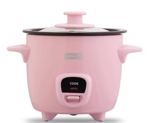 baby pink, cooking, and cookware image