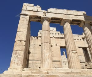 acropolis, ancient greek, and Ἀθηνᾶ image