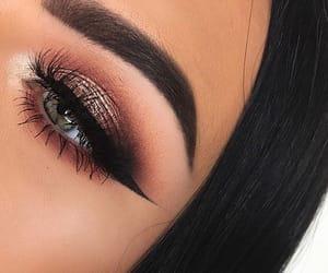 eyebrows, eyes, and on fleek image