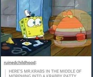 spongebob, funny, and tumblr image