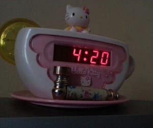 aesthetic, 420, and hello kitty image