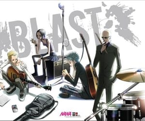 black stones, blast, and nana osaki image