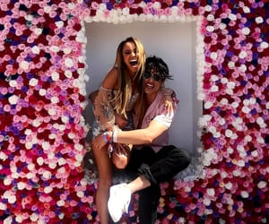 coachella, vanessa morgan, and charles melton image
