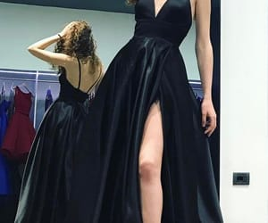 fashion, prom dresses, and women image
