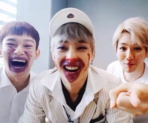Chen, exo, and cbx image