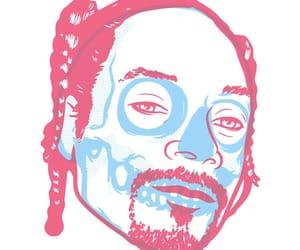 art, pink, and skull art image