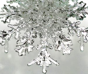 aesthetic, christmas, and silver image