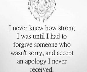 quotes, strong, and forgive image