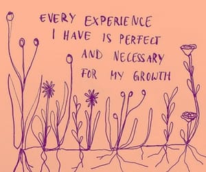 flowers, quote, and art image