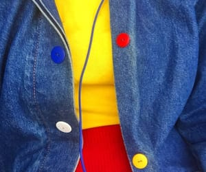 yellow, red, and blue image