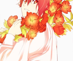 anime, flowers, and cool image