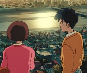 whisper of the heart, anime, and gif image