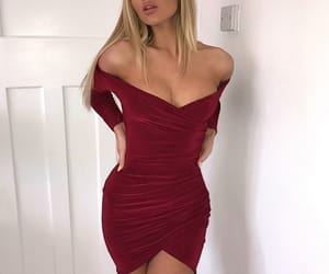 blonde and red image