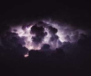 nature, clouds, and dark image