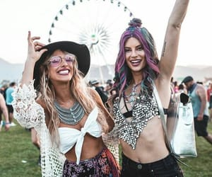 coachella, coachella 2018, and friend image