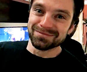 actor, gif, and sebastian stan image