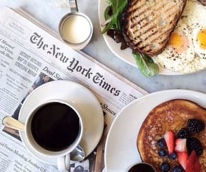 breakfast, coffee, and food image