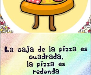 divertido, humor, and pizza image