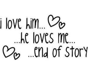 love and him image
